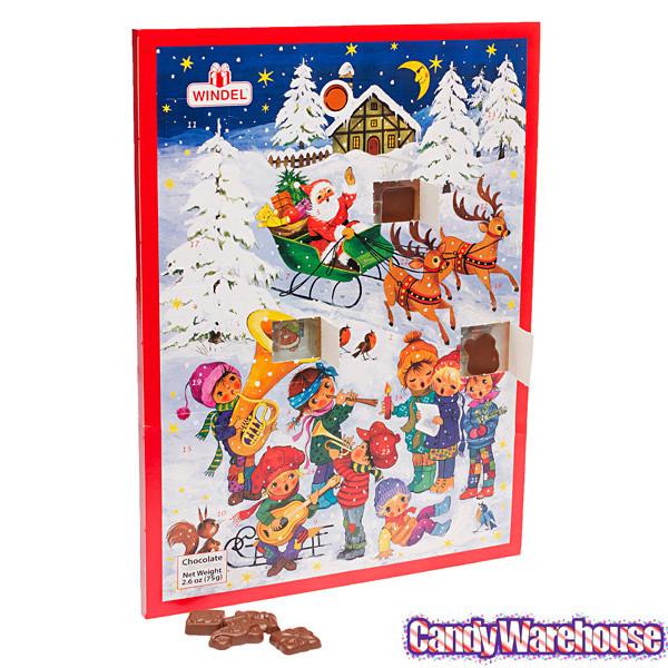 Christmas Candy Calendar  Musical Christmas Chocolate Advent Calendar