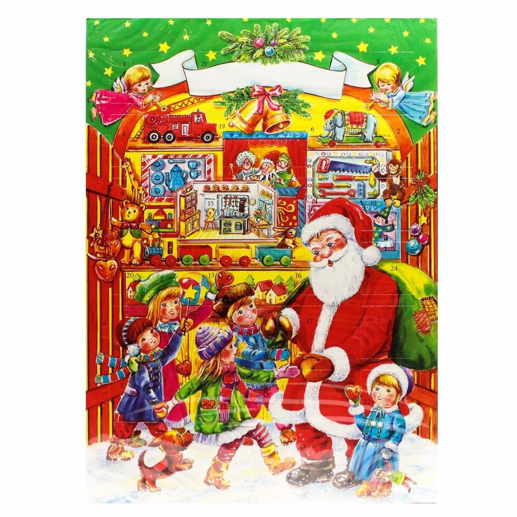 Christmas Candy Calendar  Chocolate Advent Calendar 2017 by Muller & Muller 2 6 oz