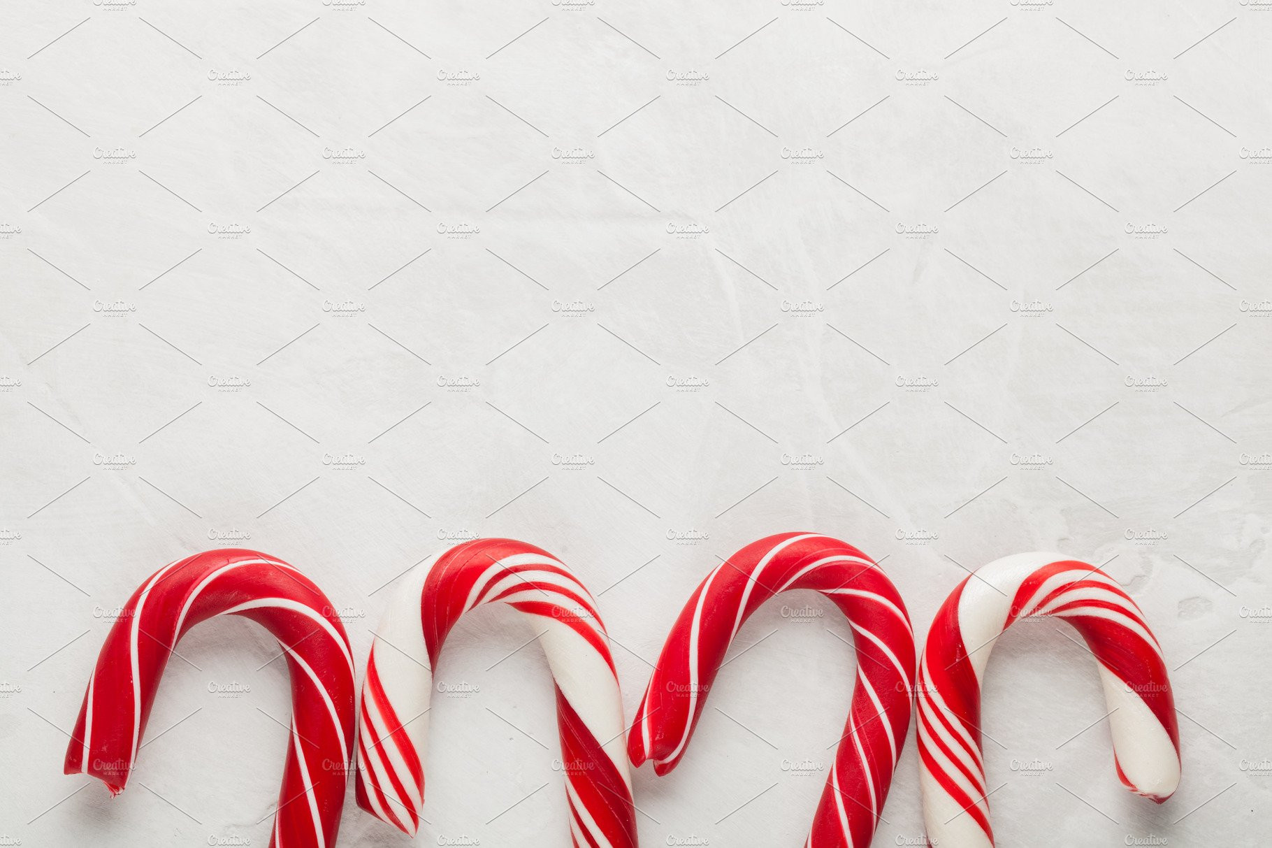 Christmas Candy Cane Background  Christmas decors with gray background Candy cane Top
