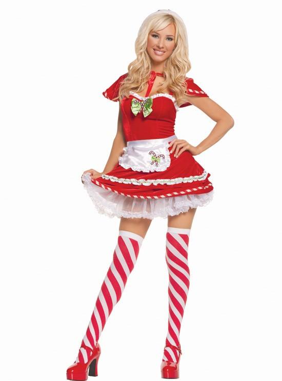 Christmas Candy Cane Costume  Candy Cane Kandi Kane Velvet Dress Cape Holiday Christmas