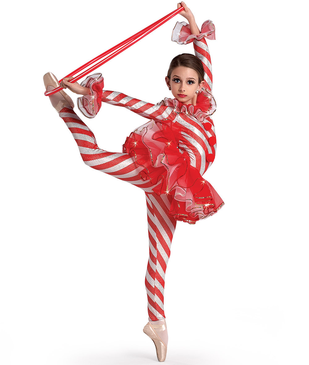 Christmas Candy Cane Costume  A Wish e True H321 Candy Cane Dance