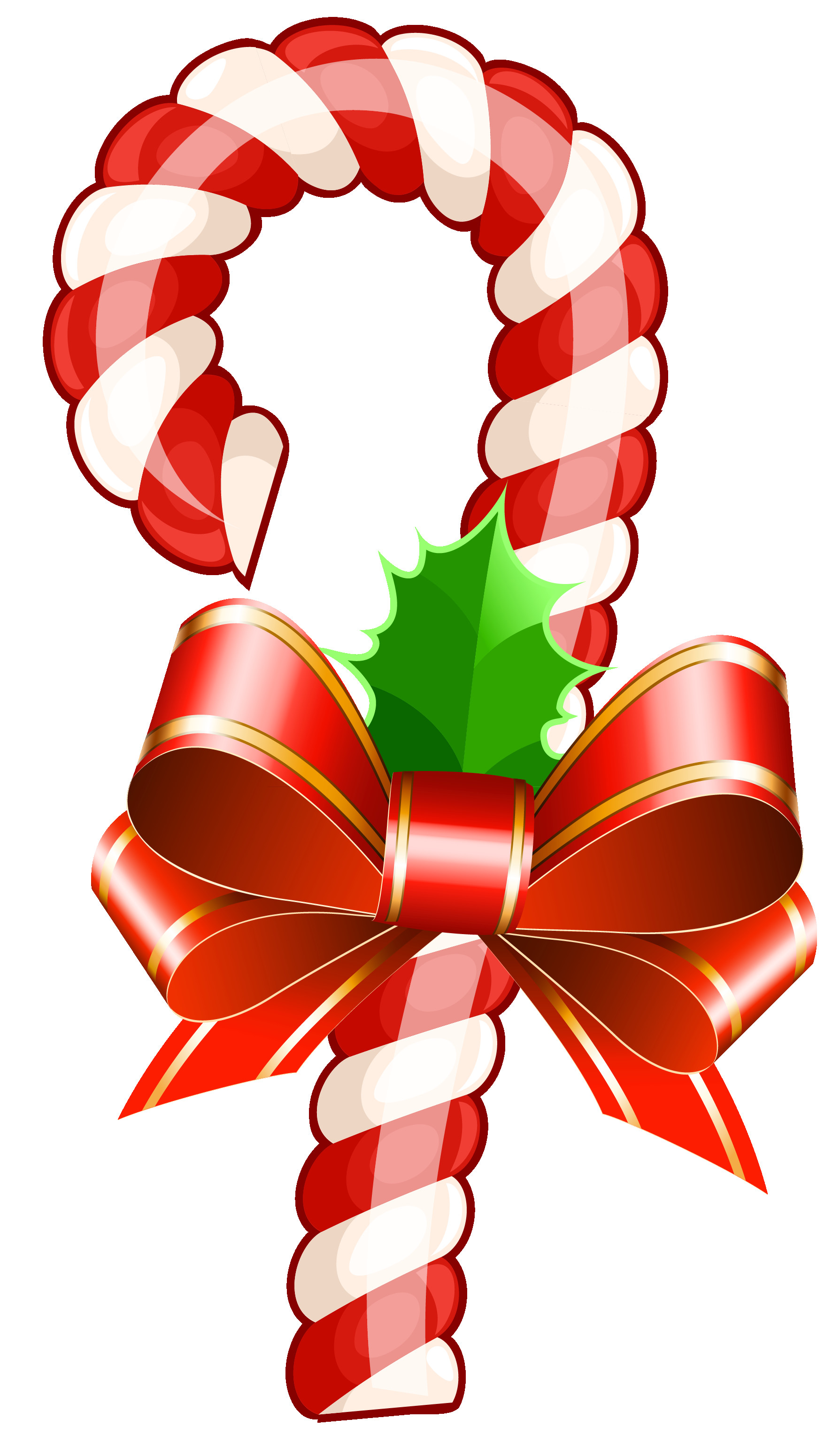 Christmas Candy Cane  Free Candy Cane Clip Art Clipartix