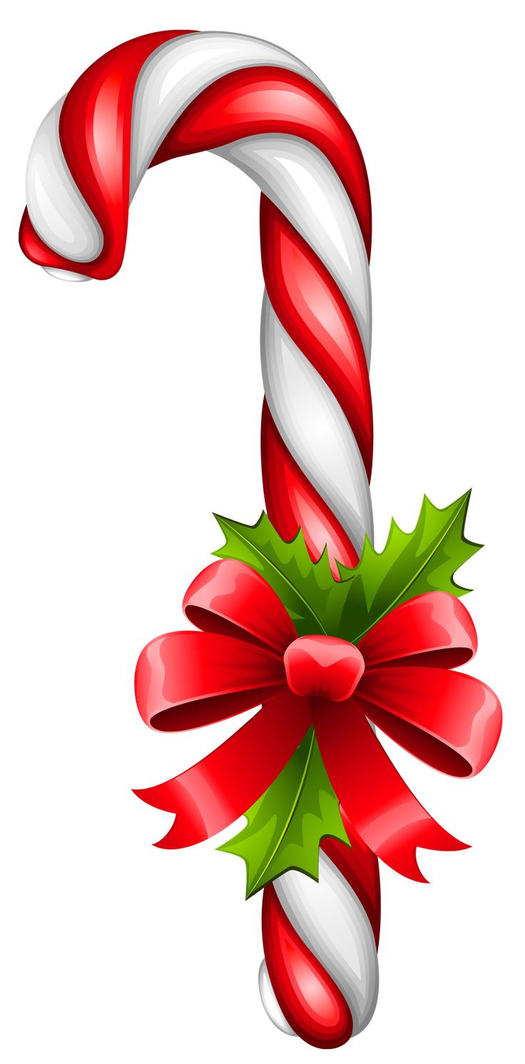 Christmas Candy Canes  Christmas Candy Cane Transparent PNG Clipart