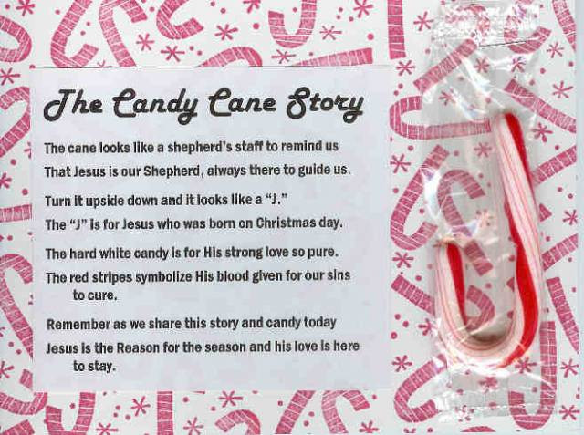 Christmas Candy Canes Story  Candy Cane Story by Suzanne Everett at Splitcoaststampers