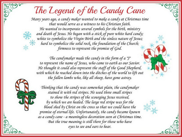 Christmas Candy Canes Story  How Fundamentalist Christians Ruin Christmas