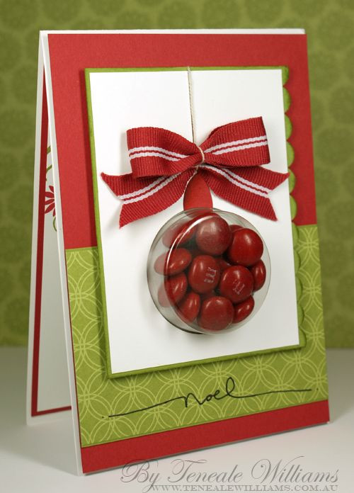 Christmas Candy Card  Best 25 Candy cards ideas on Pinterest