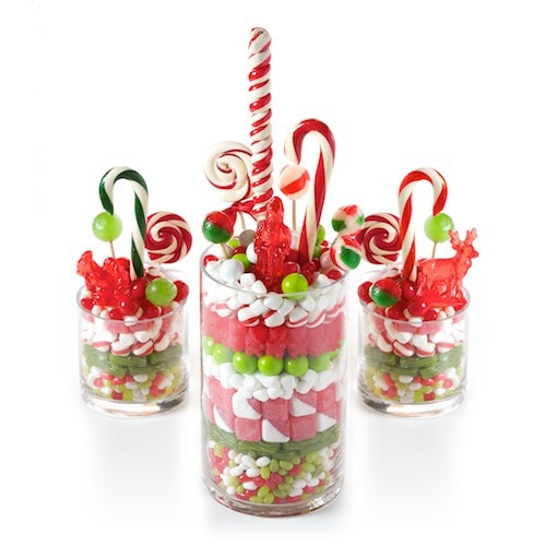 Christmas Candy Centerpieces  Nice centerpiece Christmas Crafts