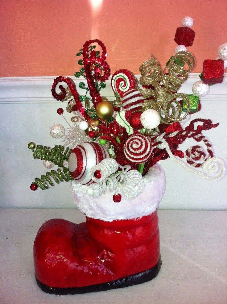 Christmas Candy Centerpieces  Candy Cane Christmas 10 handpicked ideas to discover in