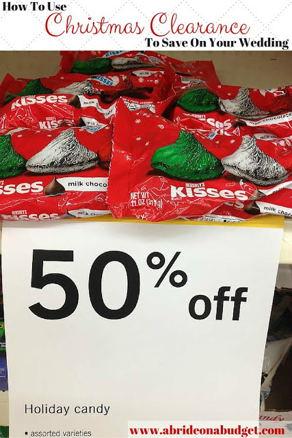 Christmas Candy Clearance  How To Use Christmas Clearance To Save Your Wedding