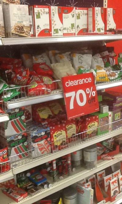 Christmas Candy Clearance  Tar clearance Christmas off