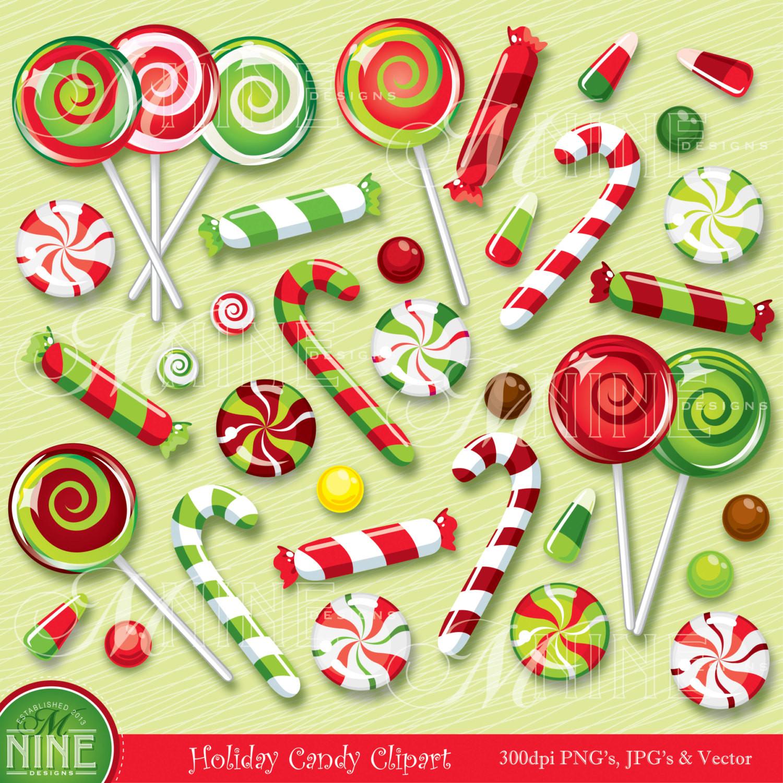 Christmas Candy Clipart  CHRISTMAS Clip Art CHRISTMAS CANDY Clipart