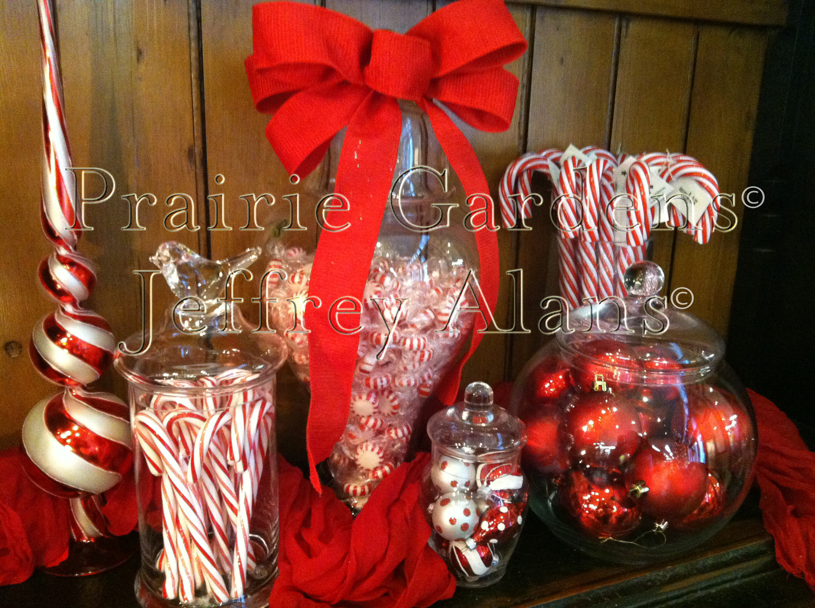 Christmas Candy Containers  How To Decorate A Candy Jar For Christmas
