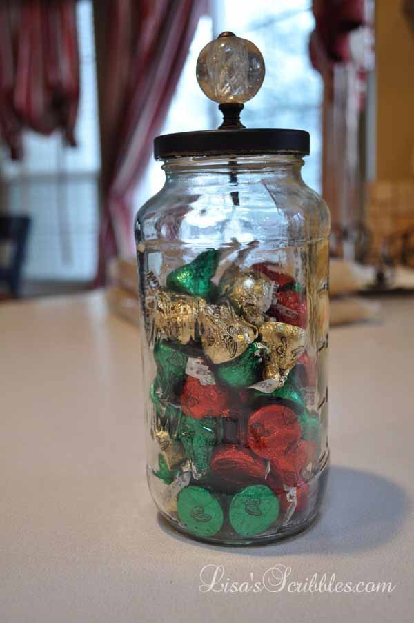 Christmas Candy Containers  DIY Christmas Candy Jars