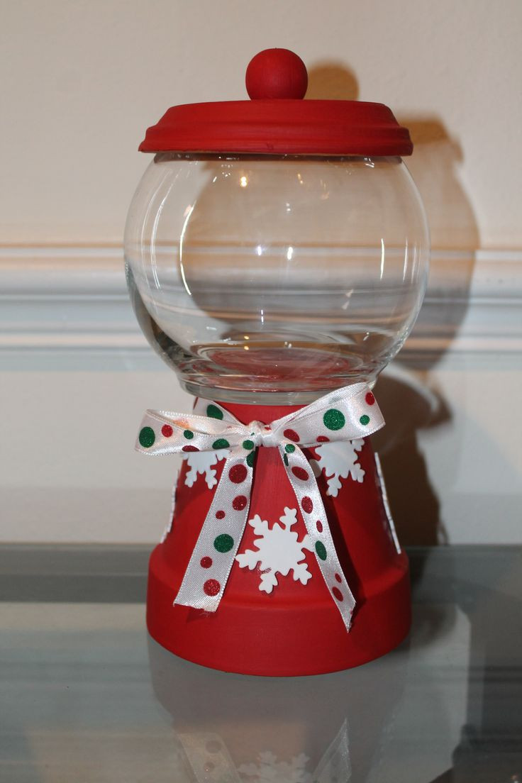 Christmas Candy Containers  73 best images about candy jars on Pinterest