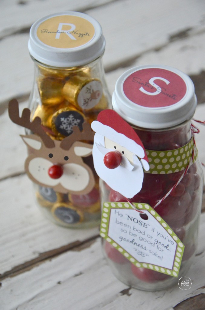 Christmas Candy Containers  Christmas Candy Gift The Idea Room