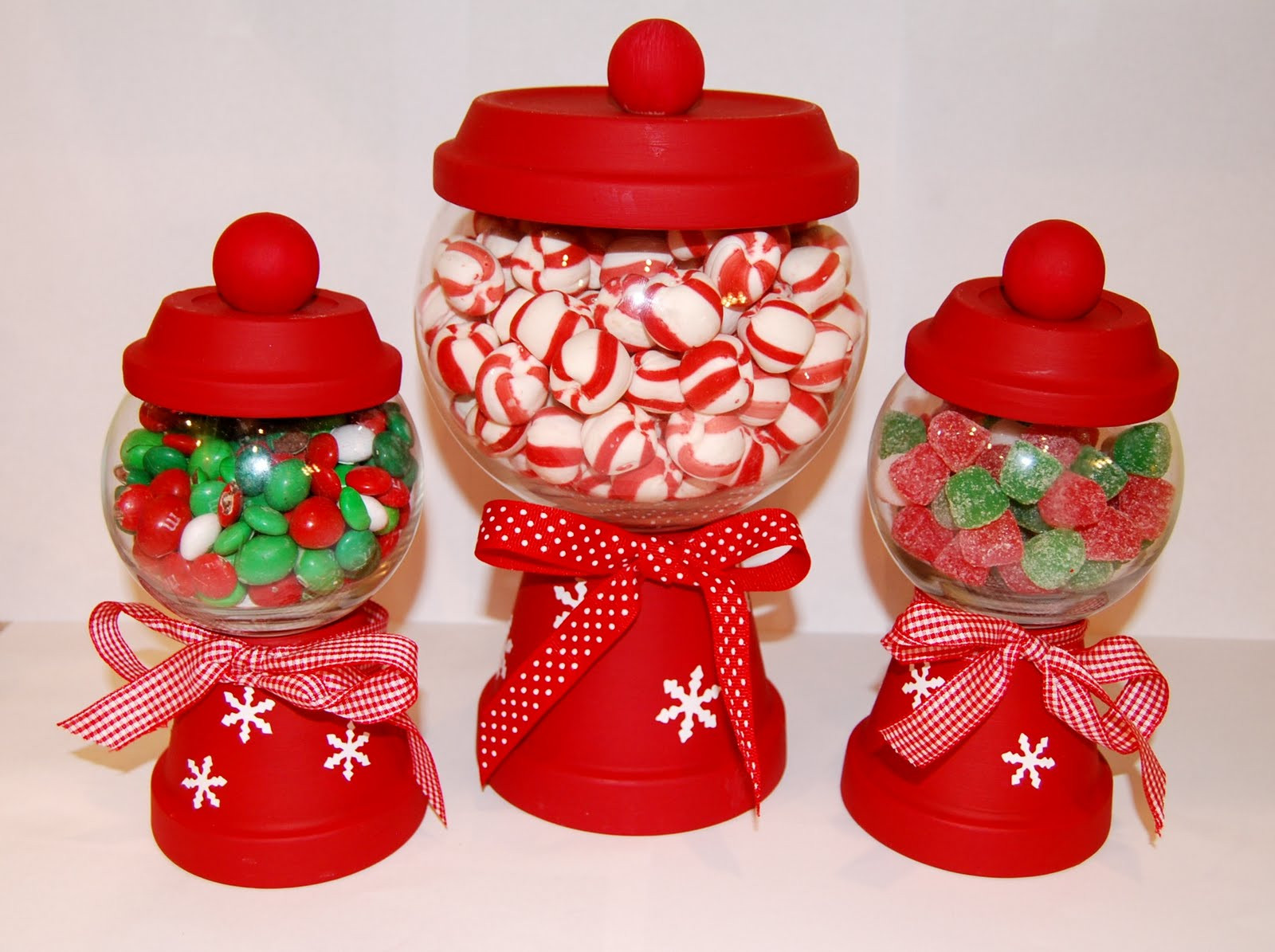 Christmas Candy Containers  See Jane Blog Christmas Craft