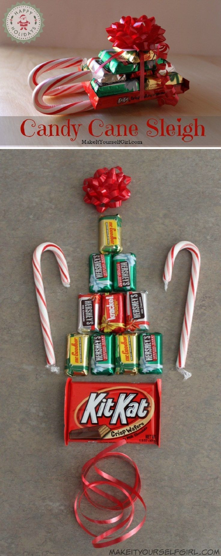 Christmas Candy Craft Ideas  Best 25 Christmas party favors ideas on Pinterest