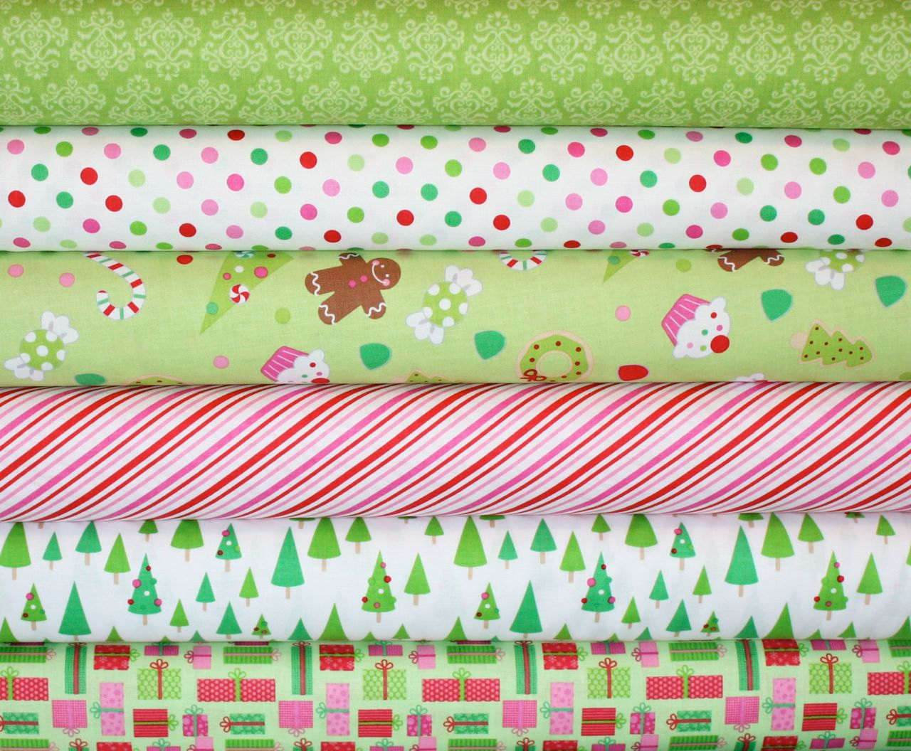 Christmas Candy Fabric  Candy Christmas Fabric by Doodlebug Designs for by