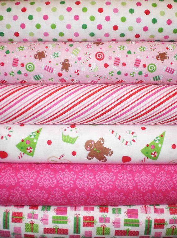 Christmas Candy Fabric  Riley Blake Christmas Candy Fabric Doodlebug Designs