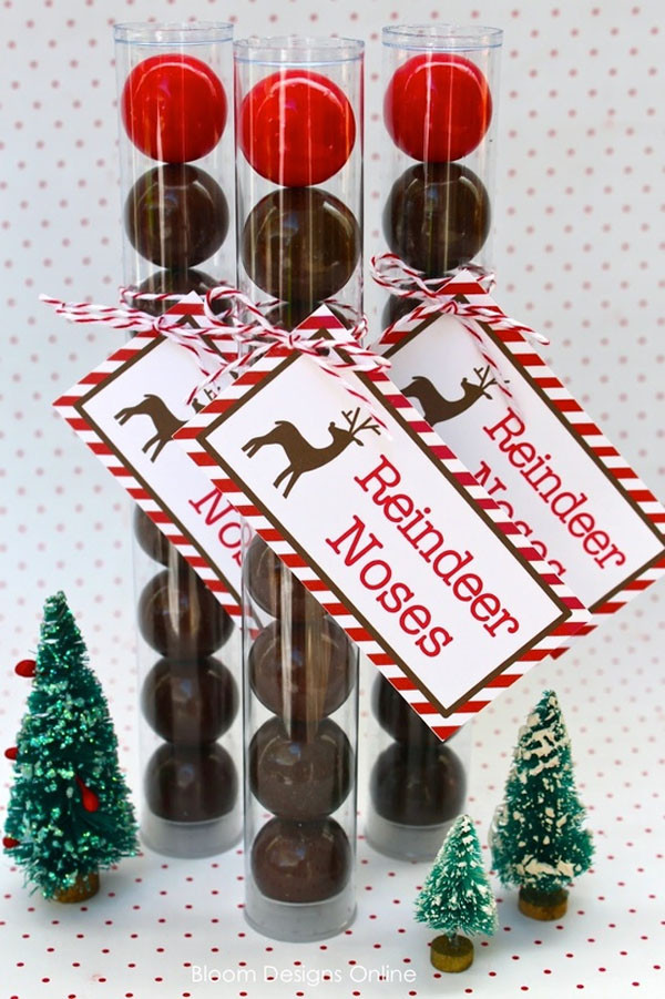 Christmas Candy Favors  Pen Paper Flowers SHARE