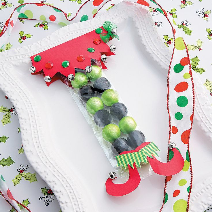 Christmas Candy Favors  471 best Christmas Ideas images on Pinterest