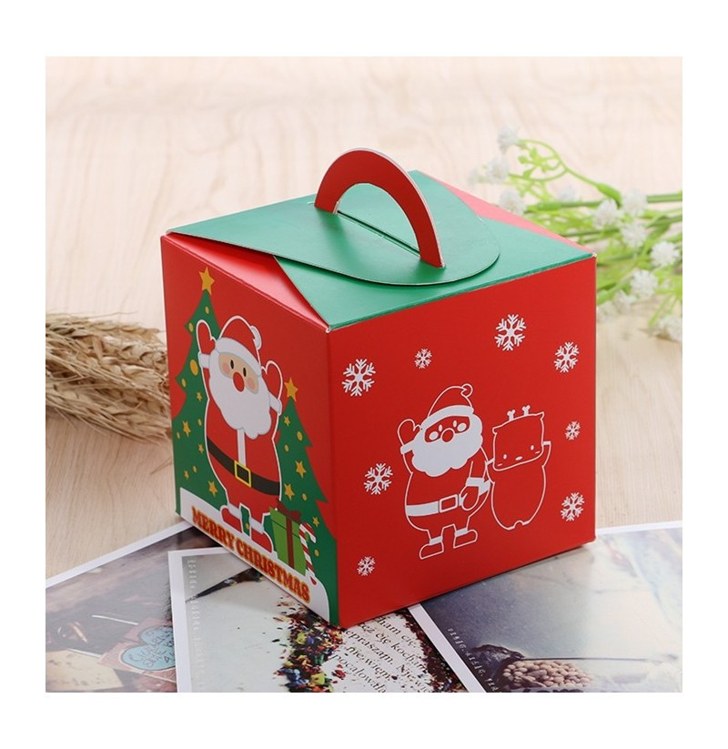 Christmas Candy Gift Box  Christmas 2017 Santa Paper Gift Box Candy Box Party