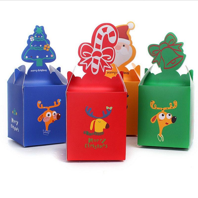 Christmas Candy Gift Box  50PCS Christmas box for ts chocolate Christmas