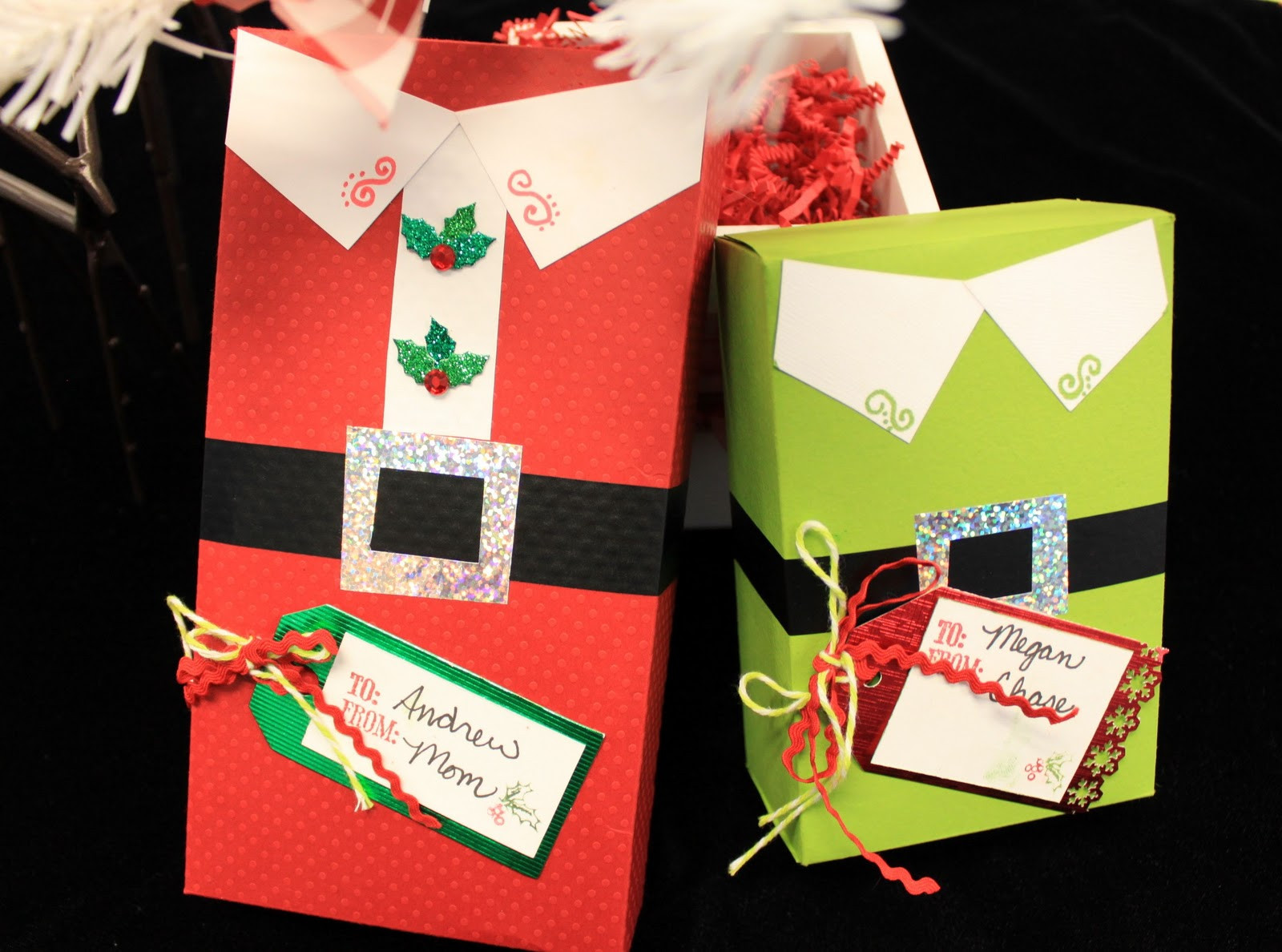 Christmas Candy Gift Boxes  Oh My Crafts Blog Day 6 Holiday Candy Gift Boxes