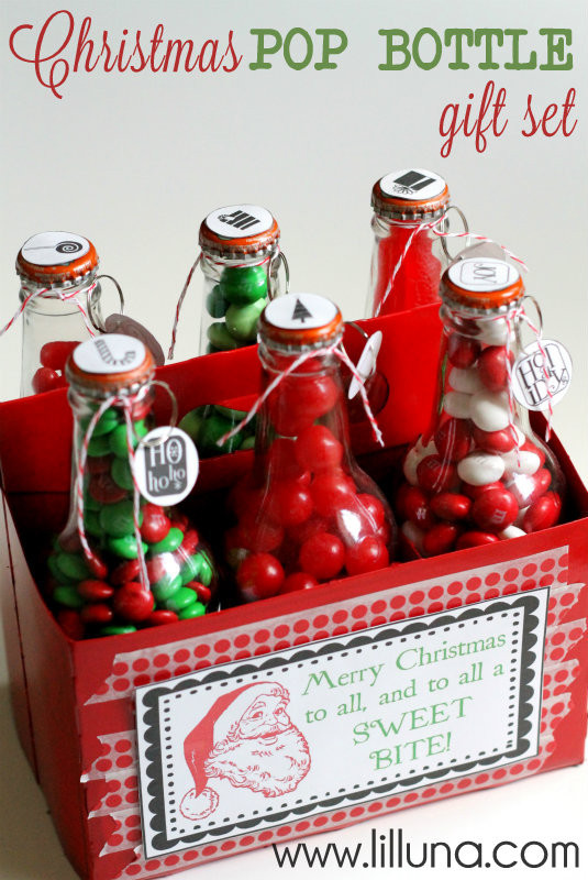 Christmas Candy Gift Ideas  Food Gift Ideas