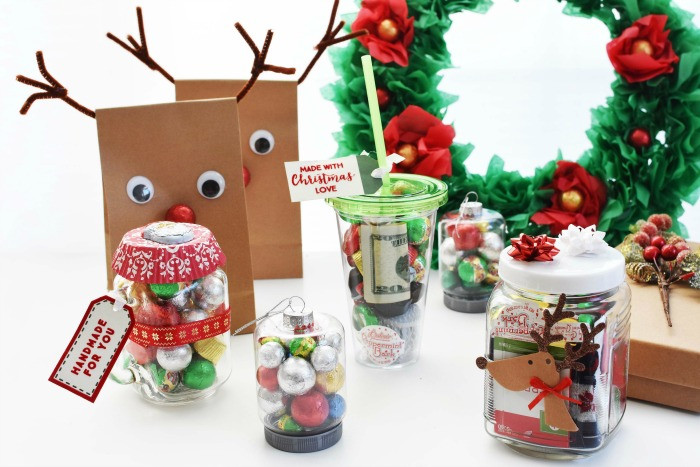 Christmas Candy Gift Ideas  Cute Homemade Christmas Gift Ideas Inexpensive and Easy