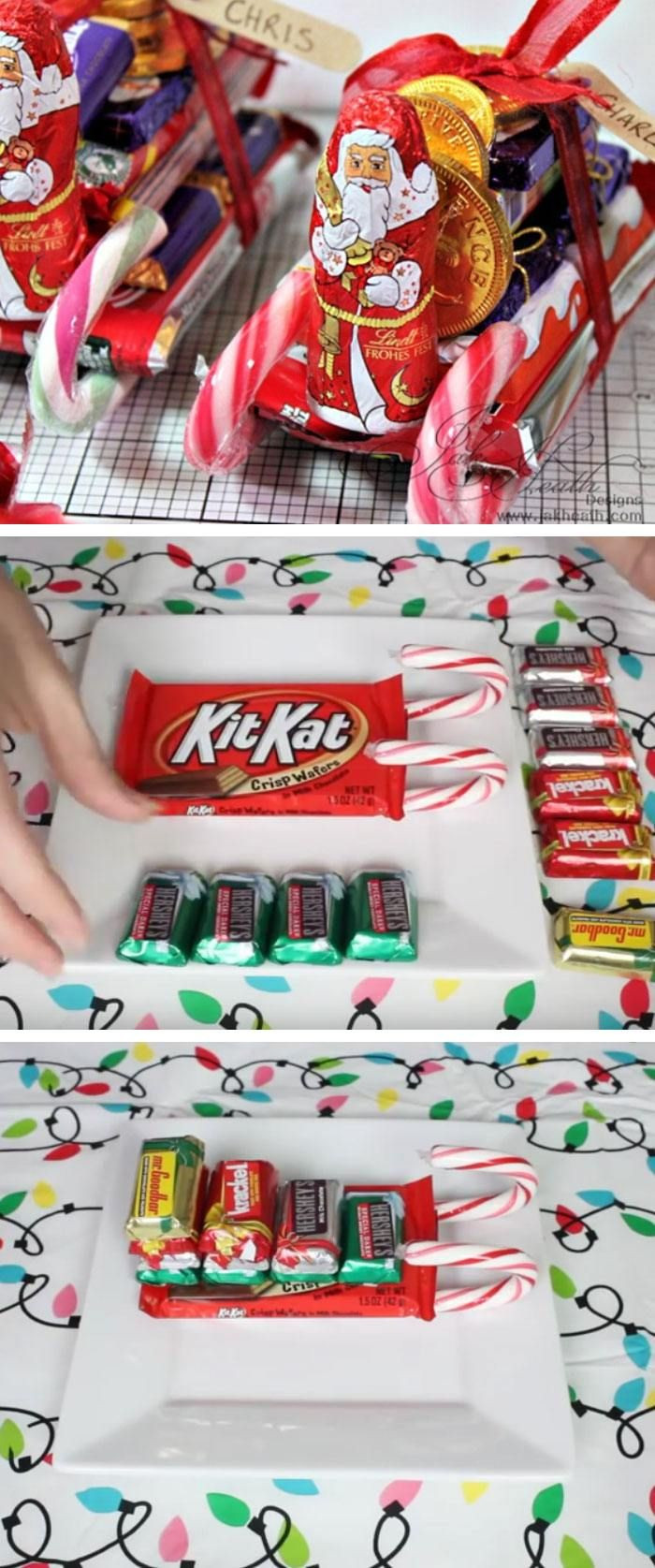 Christmas Candy Gifts  Best 25 Cute christmas ts ideas on Pinterest