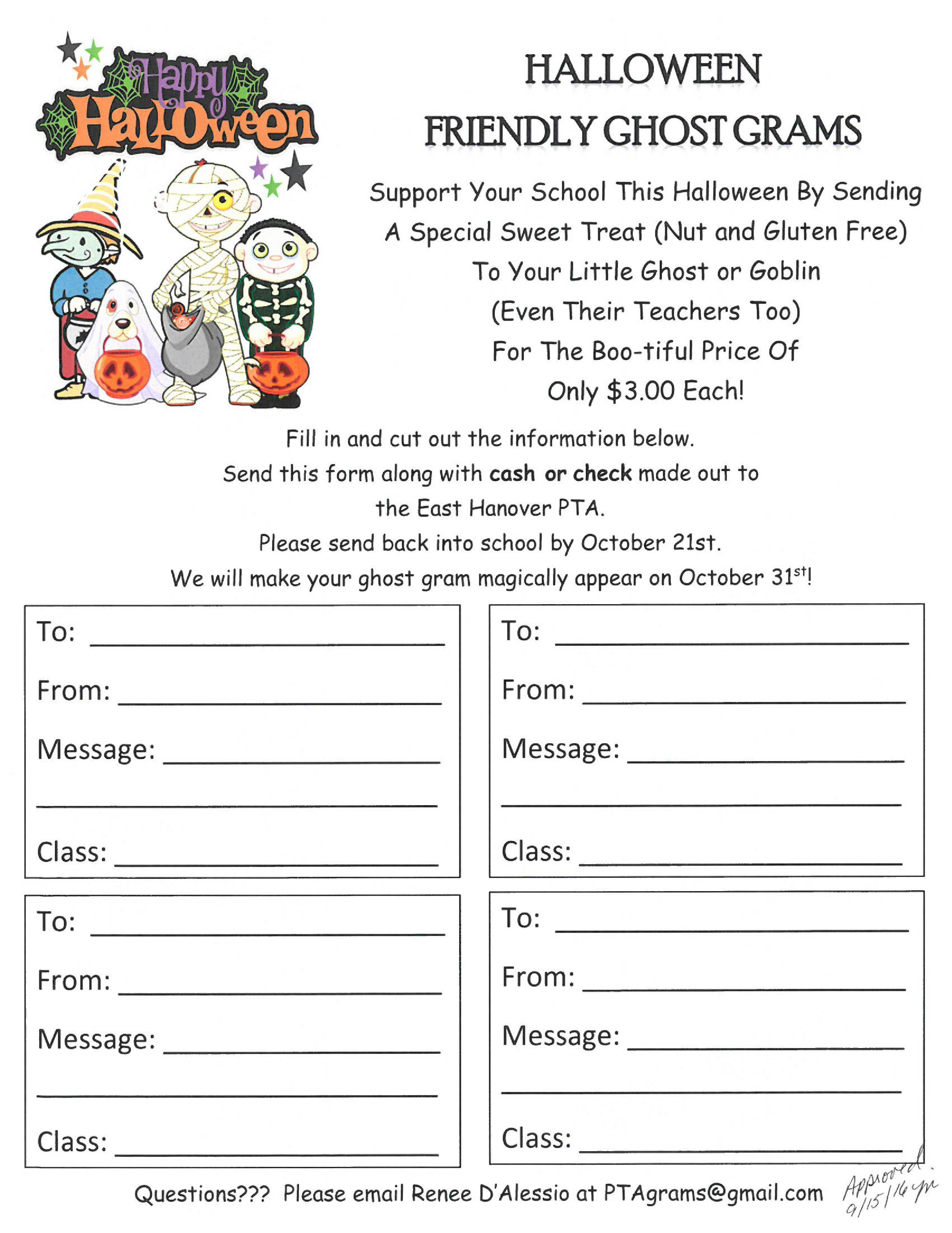 Christmas Candy Gram Template  Halloween Grams