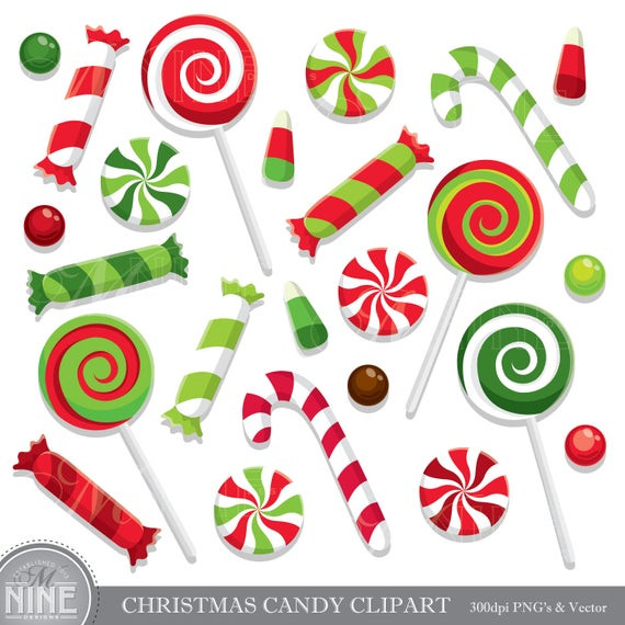 Christmas Candy Images  CHRISTMAS CANDY Clip Art Holiday CANDY Clipart Downloads