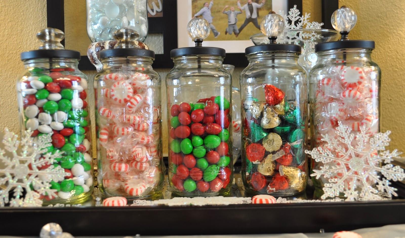 Christmas Candy Jars  Lisa s Scribbles Blog Archive DIY Christmas – Candy Jars