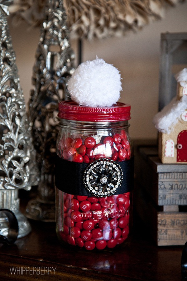 Christmas Candy Jars  Santa Candy Jar with Styled by Tori Spelling • Whipperberry