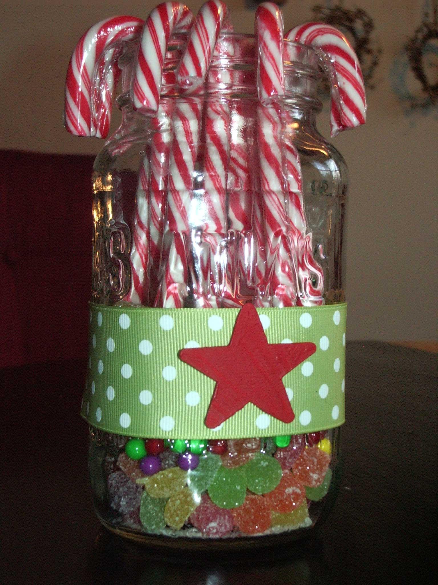Christmas Candy Jars  Gotta Make It Christmas Candy Jar