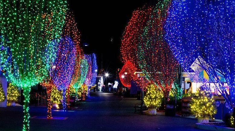 Christmas Candy Lane  Hersheypark Christmas Candylane