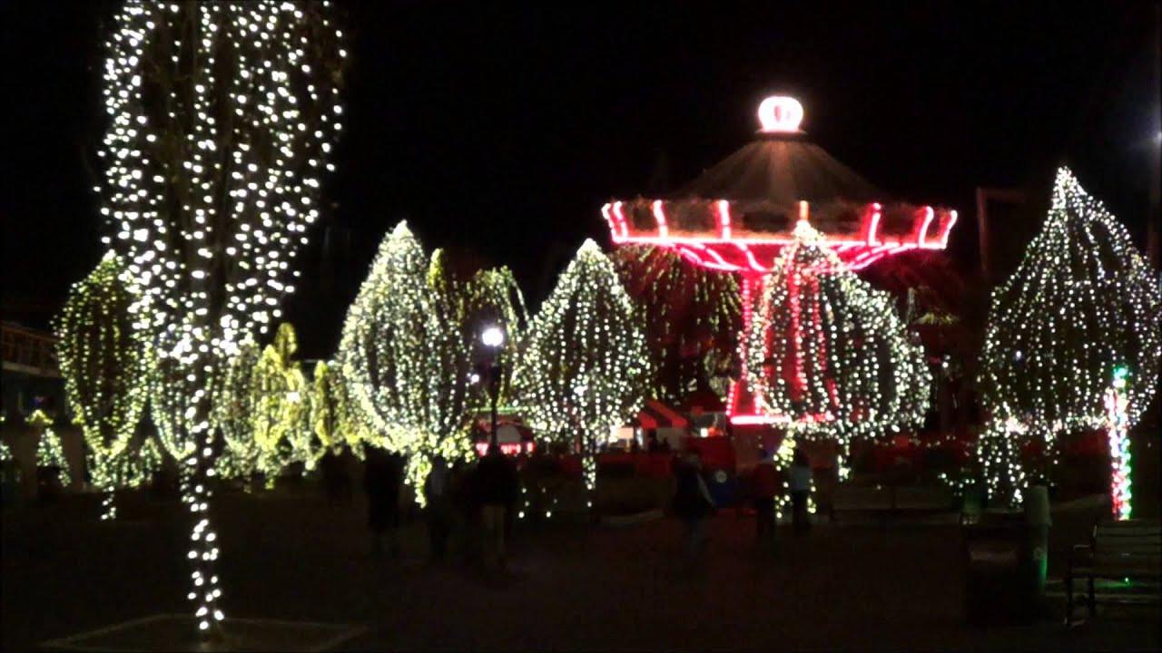 Christmas Candy Lane  Hersheypark Christmas Candylane NOEL Light Show 2013 Part