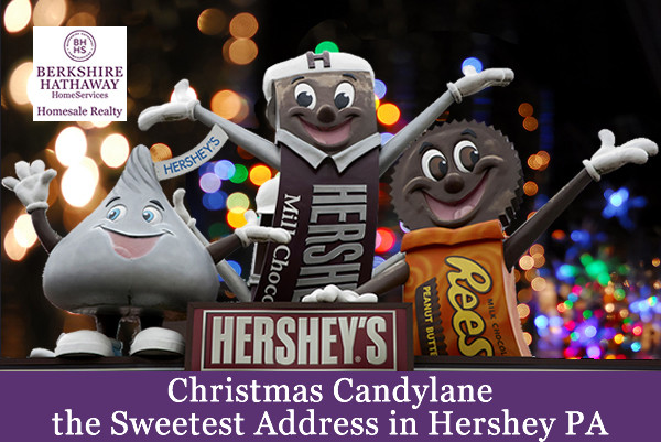 Christmas Candy Lane Hershey Pa  Christmas Candylane the Sweetest Address in Hershey PA