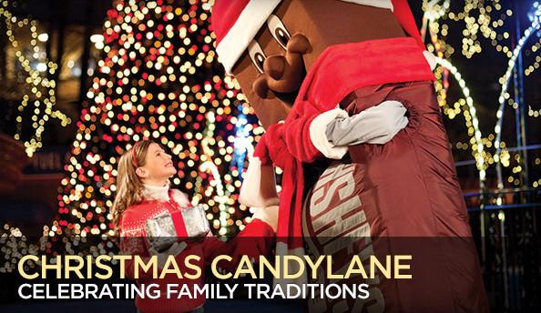 Christmas Candy Lane Hershey Park  e Savvy Mom ™