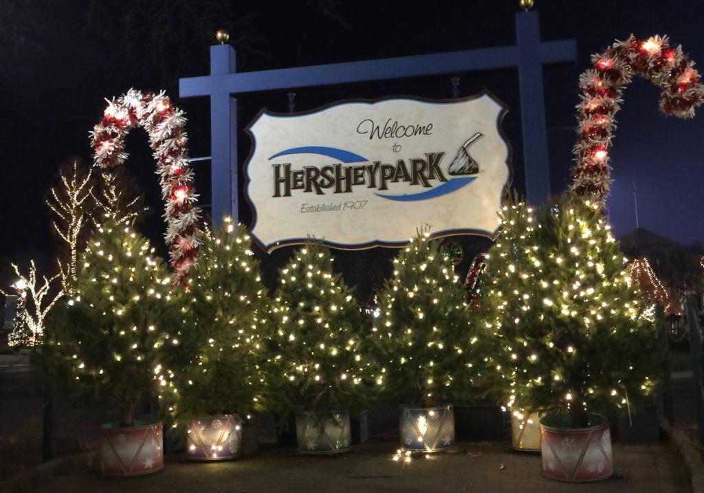 Christmas Candy Lane Hershey Park  Christmas Candylane Hershey Sweet Lights & More Returning