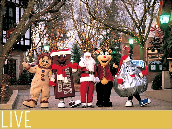 Christmas Candy Lane Hours  Hersheypark Christmas Candylane