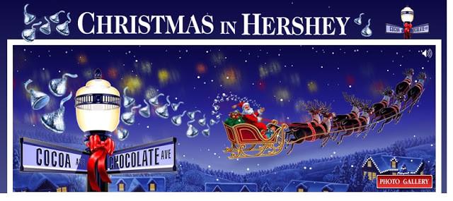 Christmas Candy Lane Hours  Hersheypark Hershey PA Hershey PA Bed and Breakfast