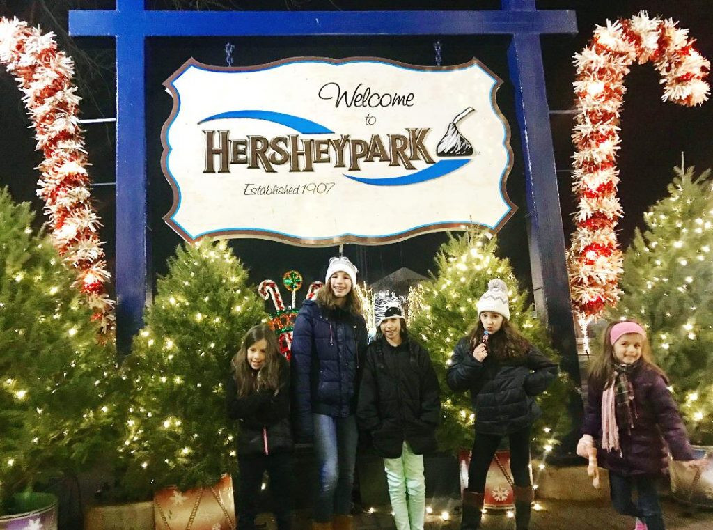 Christmas Candy Lane Hours  What to do at Hersheypark in the Winter Lola Lambchops