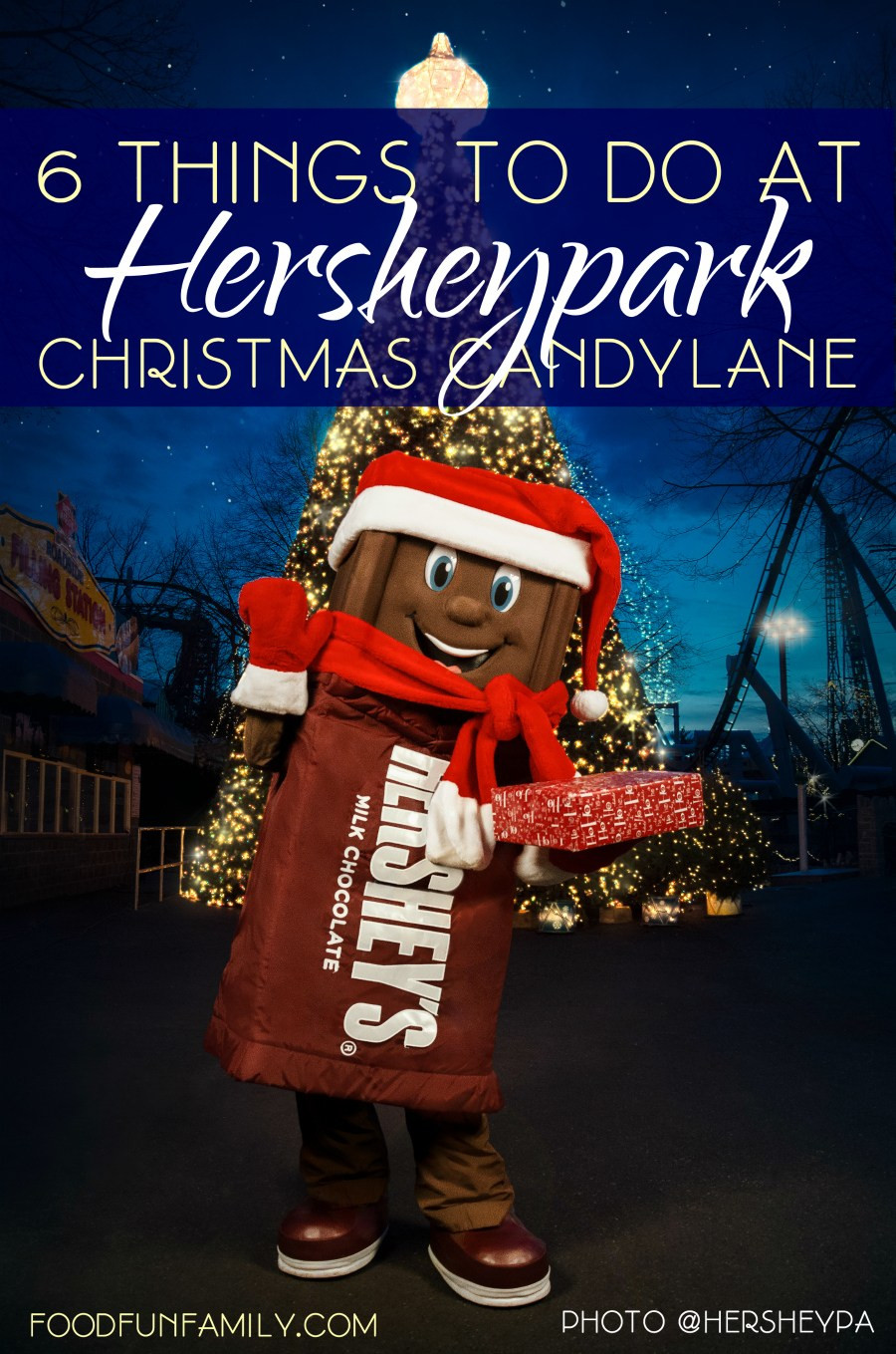 Christmas Candy Lane Hours  6 Things to Do at Hersheypark Christmas Candylane