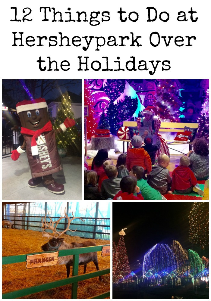 Christmas Candy Lane Hours  Holiday Fun Hersheypark Christmas Candylane Kidventurous