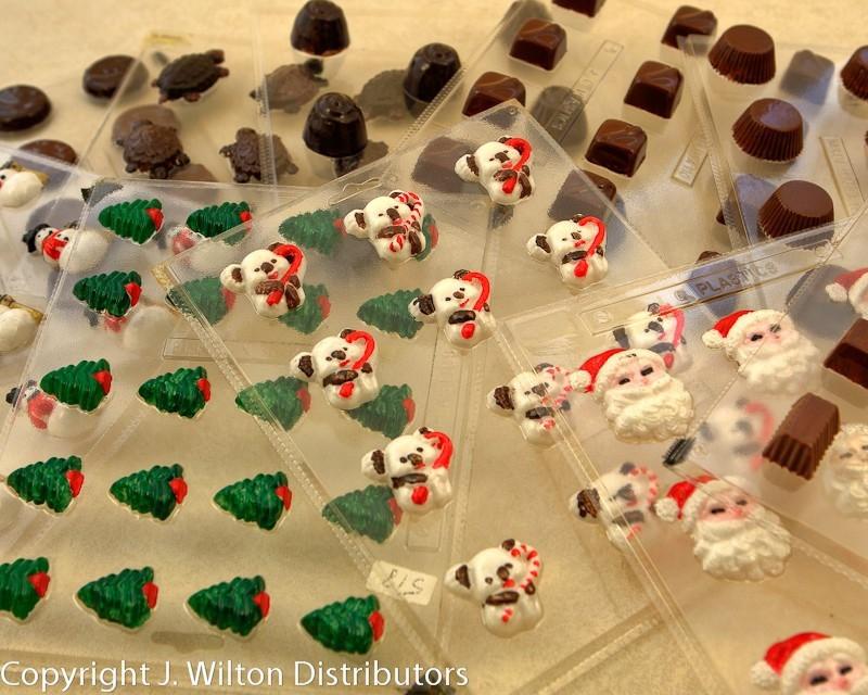 Christmas Candy Molds  Christmas Candy Molds