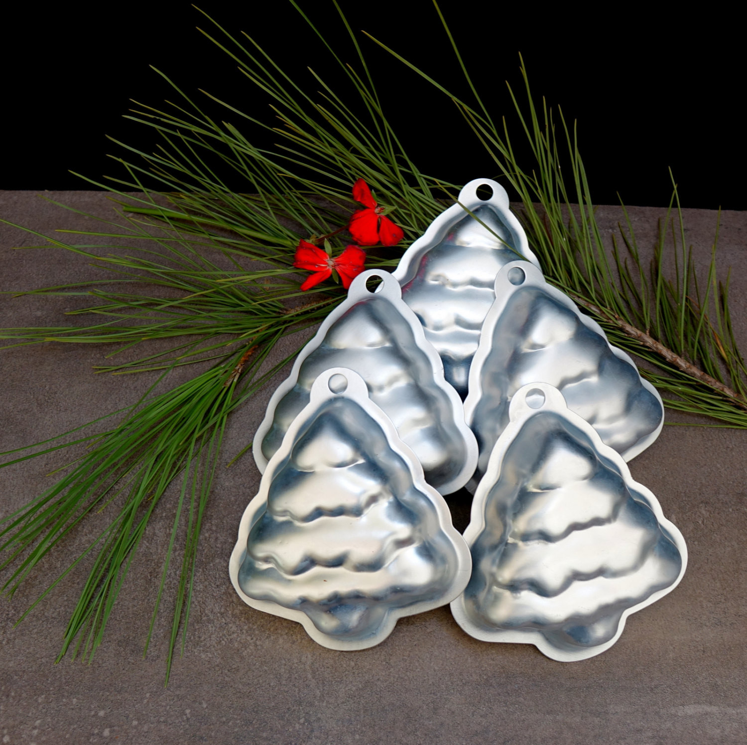 Christmas Candy Molds  Christmas Tree Molds Baking and Candy Molds by