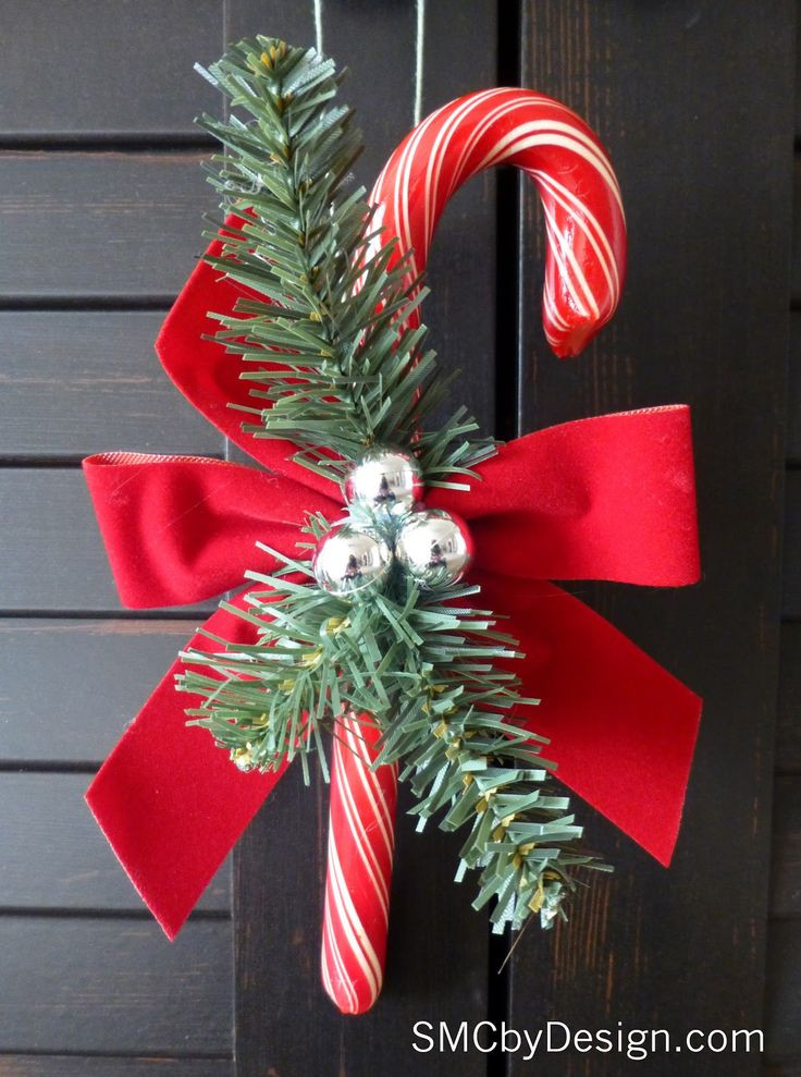 Christmas Candy Ornaments  359 best Creating with Candy Canes images on Pinterest