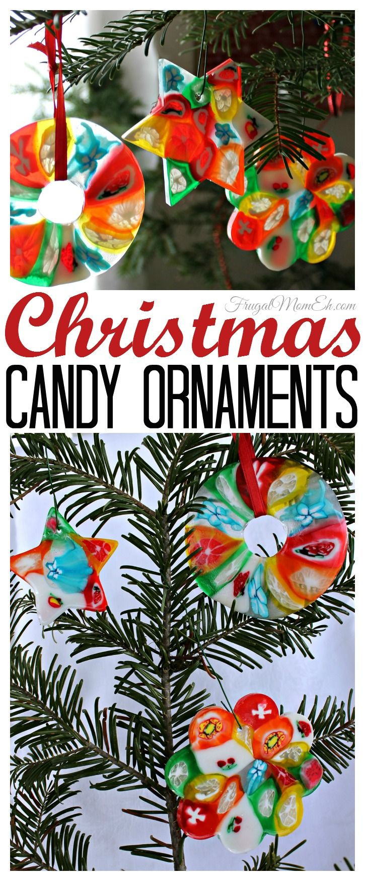 Christmas Candy Ornaments  Christmas Candy Ornaments